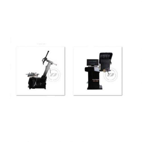 Wiederkraft WDK-764S и WDK-780B+ - комплект станков для шиномонтажа и балансировки колес, ø10-24″