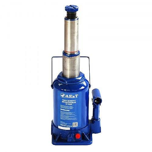 домкрат гидравлический бутылочный двухштоковый AE&T T02012