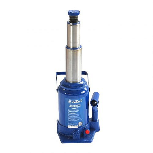 домкрат гидравлический бутылочный двухштоковый AE&T T02020