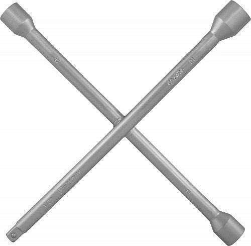 "Ключ баллонный крестообразный 17х19х21x1/2""DR, 350 мм Thorvik THK-8921"