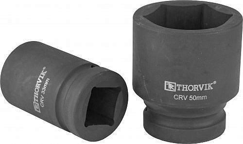 """Головка торцевая для ручного гайковерта 1""""DR, 33 мм Thorvik THK-9105"""