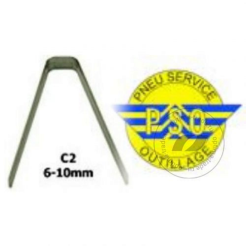 PSO C2 ножи для нарезки протектора 6-10 мм 20 штук