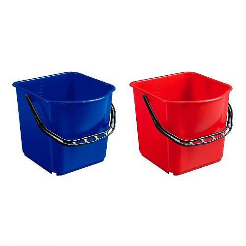 Ведро пластиковое Filmop (15 литров, красное)
