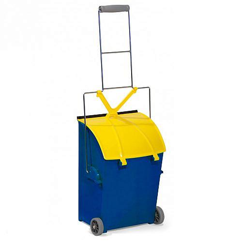 Совок для мусора Filmop на колесах (15 литров)