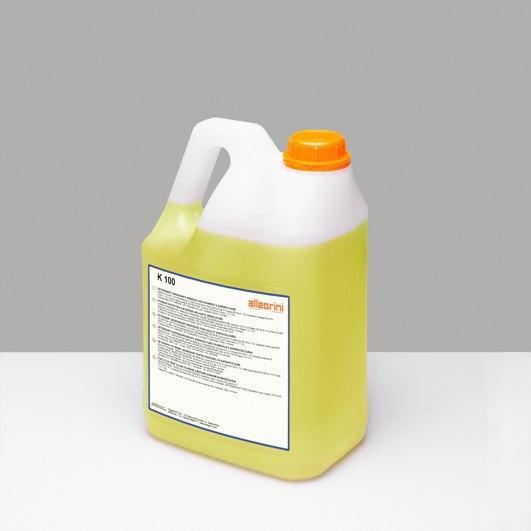 Моющее средство ALLEGRINI K 100 для удаления защитных покрытий и следов колес